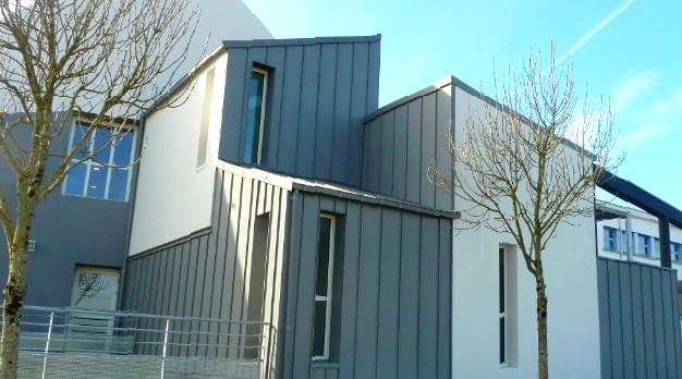 couverture et bardage bac acier vos autres projets installateur de fen tres de toit velux. Black Bedroom Furniture Sets. Home Design Ideas